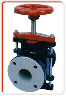 Linear valve.